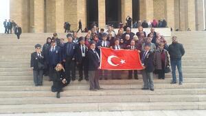 Ayvalık Kaymakamlığından, gazi ve şehit ailelerine Ankara gezisi