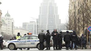 Son dakika... Rusyada canlı bomba alarmı