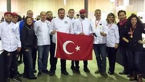 Türk aşçılar Lüksemburgda büyük başarı kazandı