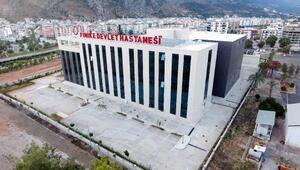 Finike Devlet Hastanesi yeni binasında