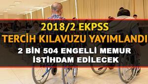 2018/2 EKPSS tercihleri başladı... EKPSS tercihleri için son gün ne zaman
