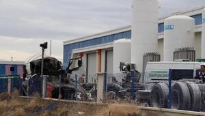 Kırıkkalede gaz dolum tesisinde patlama: 1 ölü, 2 yaralı (3)- Yeniden