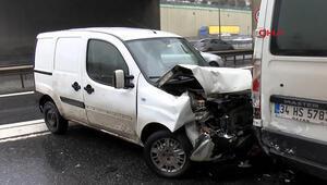 Seyrantepede zincirleme trafik kazası