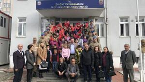 Şavşatlı öğrencilerden Afrin'e ballı mektup