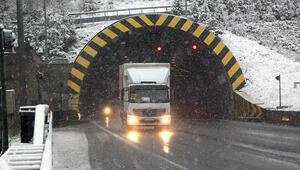 Boluda kar yağışı etkili oluyor