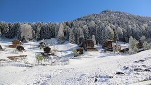 Türkiyenin Alplerine kayak merkezi yolda