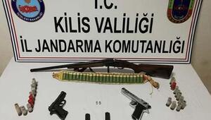 Kilis'te, hırsızlık şüphelisi yakalandı