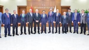 TOBB Başkanı Hisarcıklıoğlu, Vali Güzeloğlunu ziyaret etti