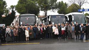 Şehit aileleri ve gaziler için İstanbul gezisi