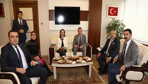 Ankara Barosundan HSK ziyareti