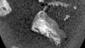 Marstan gelen inanılmaz görüntü: Külçeye benziyor ve...