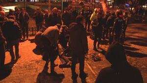 Kadıköy'de taciz iddiası... Polis, kalabalığı güçlükle dağıttı