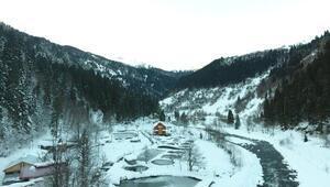 Çat Vadisinde kış güzelliği