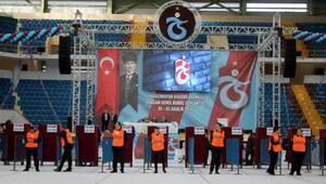 Trabzonspor'da 74'üncü Olağan Genel Kurul'un ikinci günü oy kullanma ile başladı