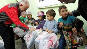 Suriyeye 8 yılda 42 bin TIR yardım gönderildi