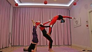 5. Uluslararası yoga koreografi turnuvası İstanbulda yapıldı