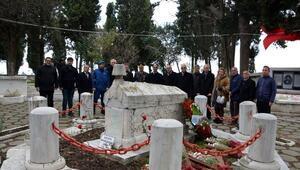 Namık Kemal, mezarı başında anıldı
