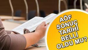 Anadolu Üniversitesi AÖF sonuç tarihi belli oldu mu Ara sınav sonuçları ne zaman açıklanacak
