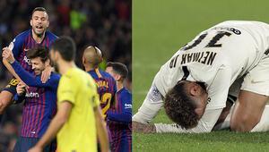 PSG ilk kez puan kaybetti, Barça yeniden lider