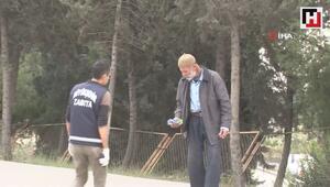Adana kent merkezinde dilencilere operasyon