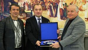 Türkmenistan İstanbul Başkonsolosu, Türkmen öğrencilerle görüştü