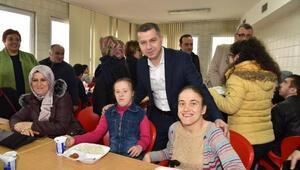 Başkan Kuzu, engelli öğrenciler ile buluştu