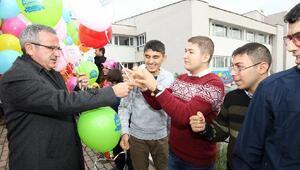 Başkan Köşker özel çocuklarla buluştu