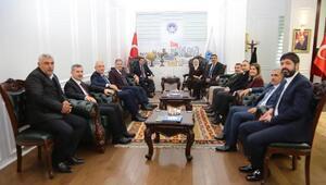 AK Partililerden, Gürkana ziyaret