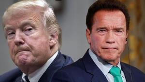 Schwarzeneggerden Trump sözleri: Çatlak...