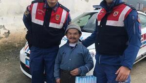 Jandarma ekiplerinden engelli vatandaşlara ziyaret