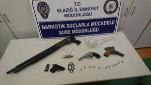Elazığda uyuşturucu operasyonu: 6 gözaltı
