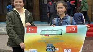 Robotik yarışması şampiyonu Ardahanlı öğrenciler Çine gitti
