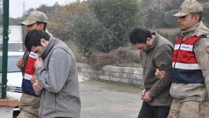 2 kardeş Türkiyeye girmeye çalışırken yakalandı