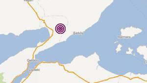 Son dakika: Çanakkalede korkutan deprem