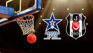 Anadolu Efes Beşiktaş Sompo Japan basketbol maçı bu akşam saat kaçta hangi kanalda canlı olarak yayınlanacak