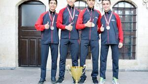 Gaziantepli atletler, Türkiye ikincisi oldu