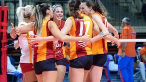 Galatasaray, CEV Kupasında 8li final turuna yükseldi