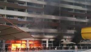 Hatayda termal otelde yangın