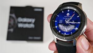 Yeni Samsung Galaxy Watch parmak izinizi böyle tarayacak