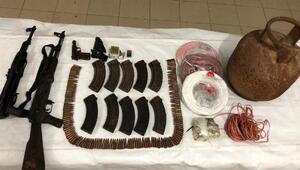 Bitliste PKKya ait silah ve mühimmat ele geçirildi