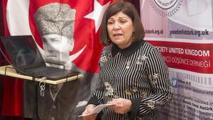 Türk kadınına Londra'da kutlama