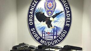 Sarallara 2 ilde operasyon: 17 gözaltı