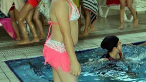 Çocukları havuzla buluşturan proje: Yüzme Bilmeyen Kalmasın
