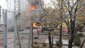 Organize sanayi bölgesinde trafo patladı, fabrikalarda üretim durdu