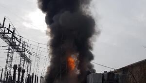 Organize sanayi bölgesinde trafo patladı, fabrikalarda üretim durdu/ Ek fotoğraflar