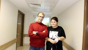 Almanyadan gelen obez hastası, Hatemde şifa buldu