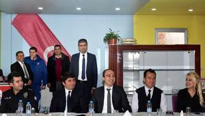 Tufanbeyli'de İlçe İdare Kurulu toplandı