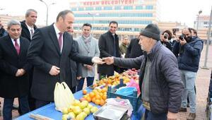 Edirne Valisi Ekrem Canalp, Keşanda ziyaretlerde bulundu