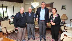 Balçova Belediye Başkanı Çalkayadan vefa ziyareti