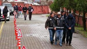 Karabükte FETÖ operasyonunda gözaltına alınan 5 şüpheli adliyeye sevk edildi